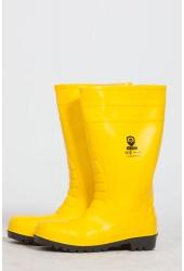 Сапоги ПВХ S5, желтые (мет.подносок, антипрокольная пластина)