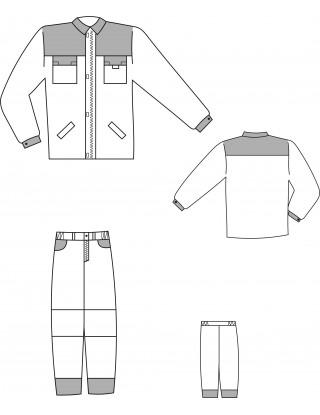 """Костюм """"Оптима"""" (брюки + куртка)"""