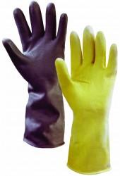 Перчатки латексные БАР`ЄР-ЕКСТРА, тип КЩС (черные)
