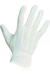 Перчатки трикотажные вязанные с мелкой ПВХ точкой BUSTARD