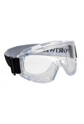 Очки защитные закрытые PW22 панорамые Challenger, непрямая вентиляция