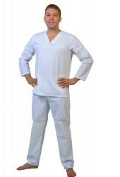 Белье нательное (куртка + брюки), бязь отбеленная