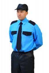 """Рубашка """"Охрана"""". дл. рукав"""
